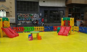 Parque infantil Hero Tour Madrid 2015